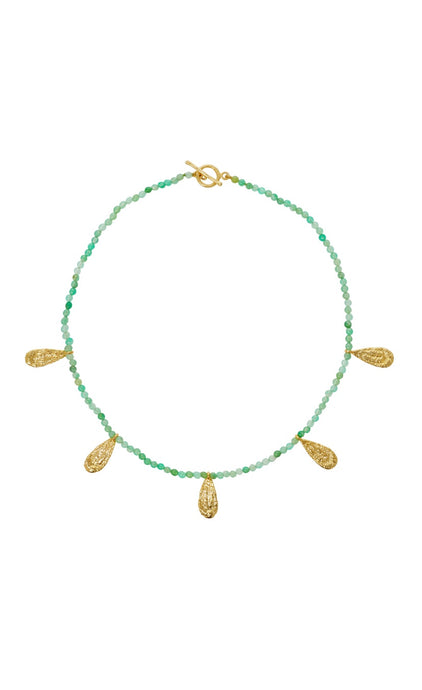 ISABEL NECKLACE CHRYSOPRASE