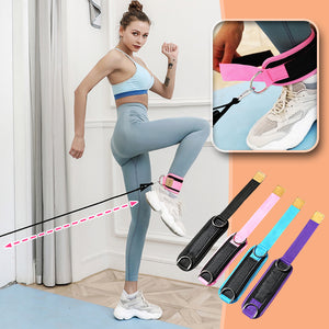 Stretch+ Cuff Resistance Band with Ankle Strap