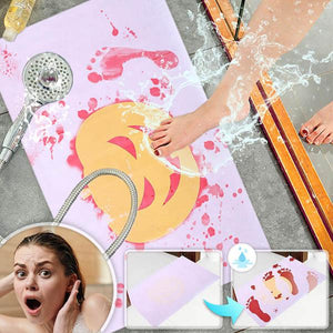 Halloween Blood Bath Mat
