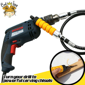 Wood Carving Chisel Drill Attachment