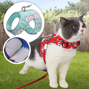 SafeVest Cat Harness & Leash