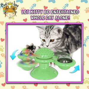 PurrFect Windmill Interactive Cat Toy