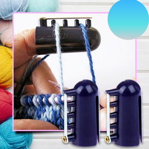 [PROMO 30% OFF] QuickStitch Knitting Thimble Yarn Guide