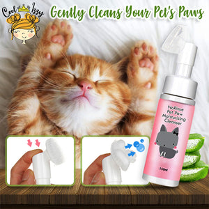 NoRinse Pet Paw Moisturizing Cleanser