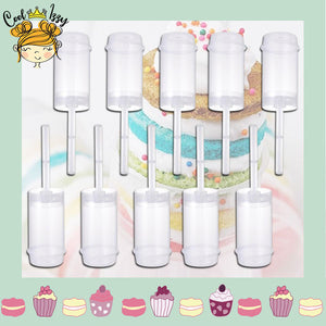 CakeBITES Cake Push Pops Maker - (5PCS)