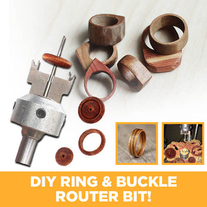 CarvePRO Wooden Ring & Buckle Router Bit
