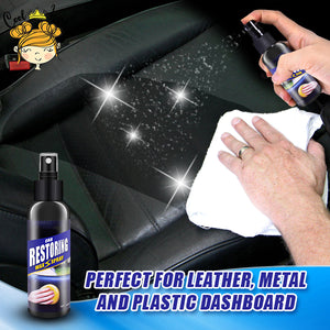 Car Restoring Wax Spray