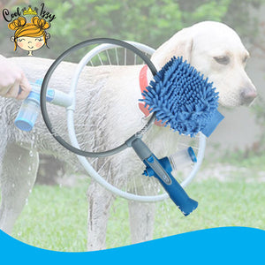360° Total Clean Dog Shower Tool Kit