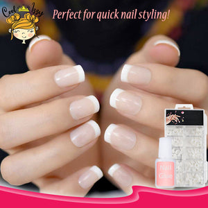 InstaGLAM French Nail Tip Kit