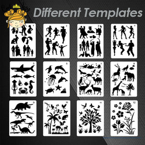 FastDraw Stencil Art Templates