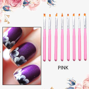 [PROMO 30% OFF] PetalChic Flower Nail Art Brush Pen