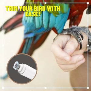 BirdSAFE Noiseless Nail Trimmer