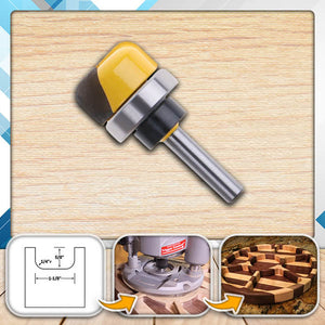 WoodWORK Bowl & Tray Template Router Bit