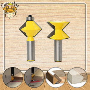 BuilderPRO V Edge Banding Router Bit Set