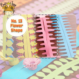 Paper Quilling Flower Strips