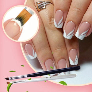 [PROMO 20%OFF] EasyFrench Tip Nail Brush (2pcs)