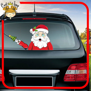 Christmas Wiper Tags
