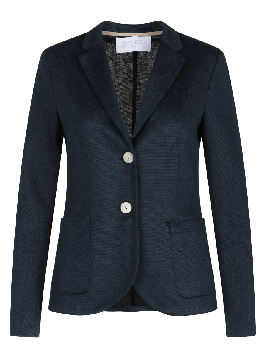 Tailored linen blazer