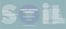 Load image into Gallery viewer, Lemon Verbena Hydrosol