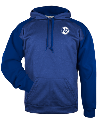 Heather Tonal Hoodie - N' The Zone