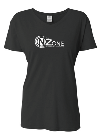 Women's V-Neck Tee - N' The Zone