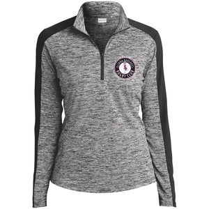 NZ Banshees Electric Heather Colorblock 1/4-Zip Pullover