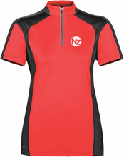 Load image into Gallery viewer, Women's Odyssey Zip Polo