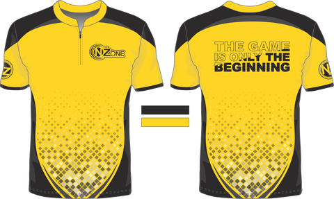 Yellow and Black Jersey