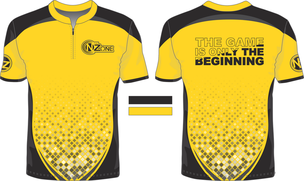Ladies Yellow and Black Jersey