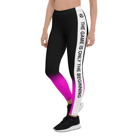 NZ The Game Pink Leggings