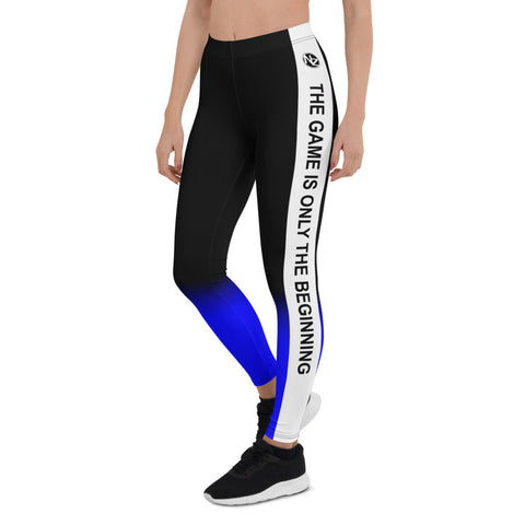 NZ The Game Blue Leggings