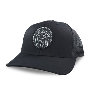 Not All Who Wander Trucker Hat