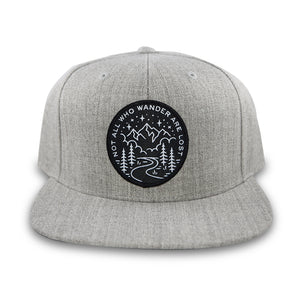 Not All Who Wander Snapback
