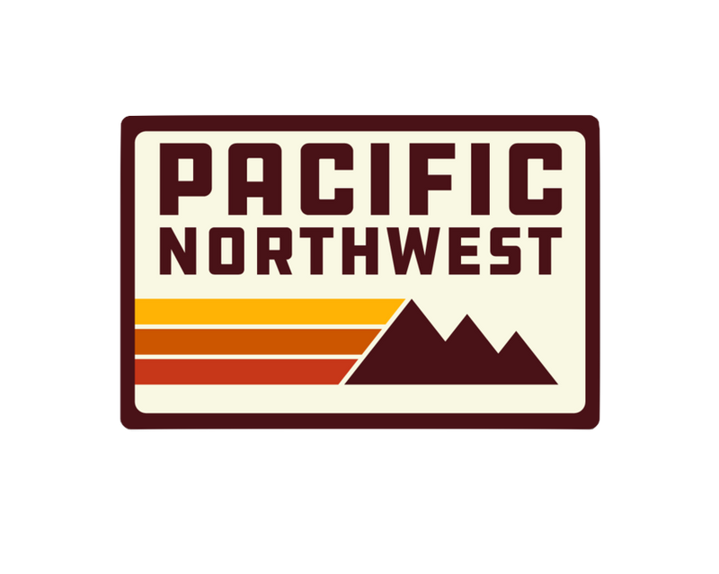 Northwest Retro Sticker