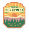 PNW Sticker Orange