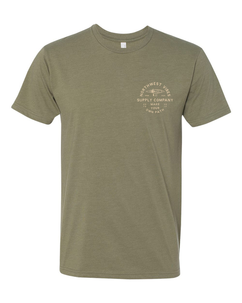 Make Your Own Path T-Shirt Green