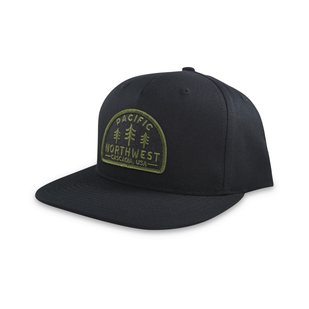 Timberline SnapBack Hat Black