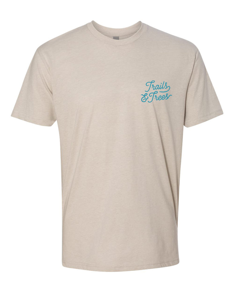 Trails & Trees T-Shirt Stone
