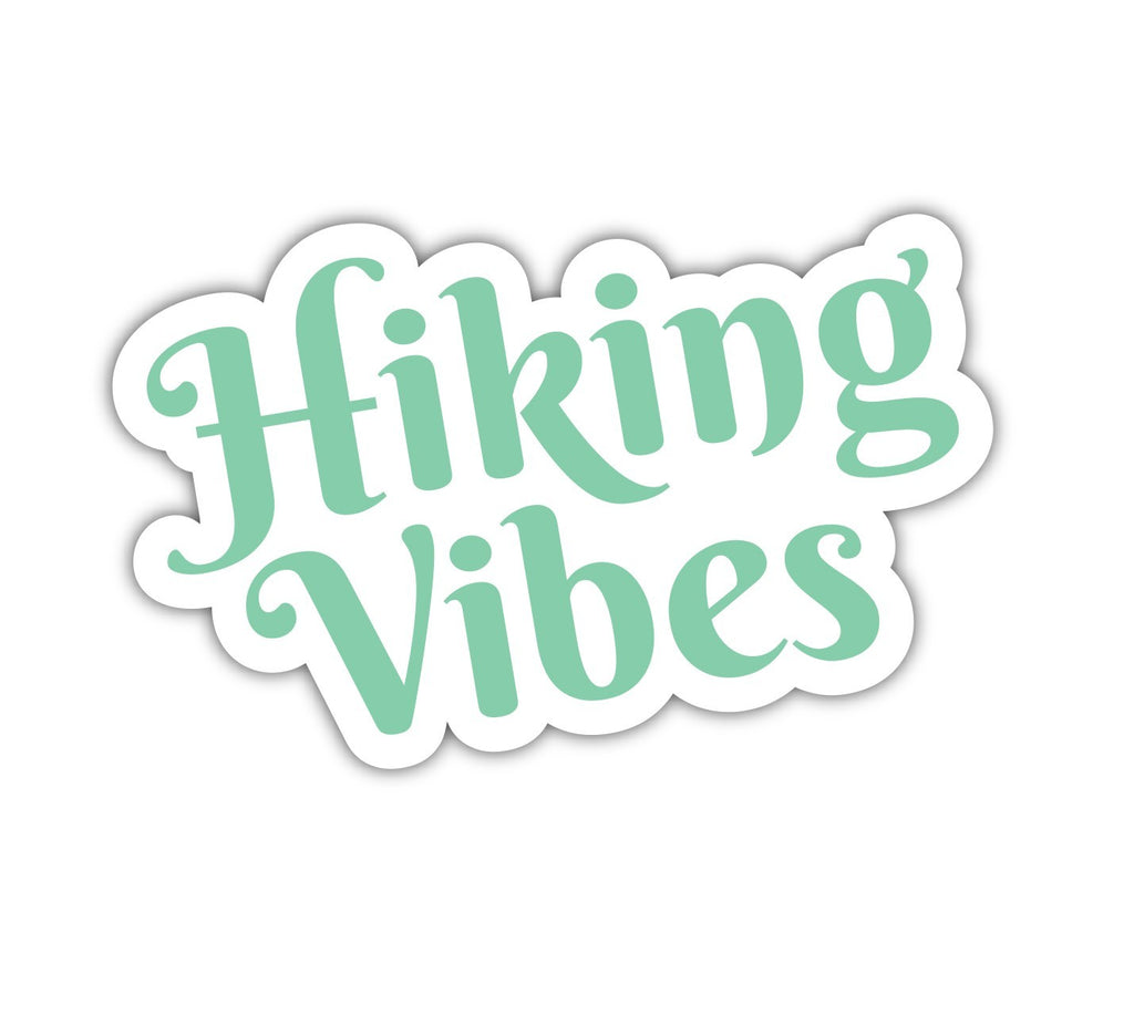 Hiking Vibes Sticker