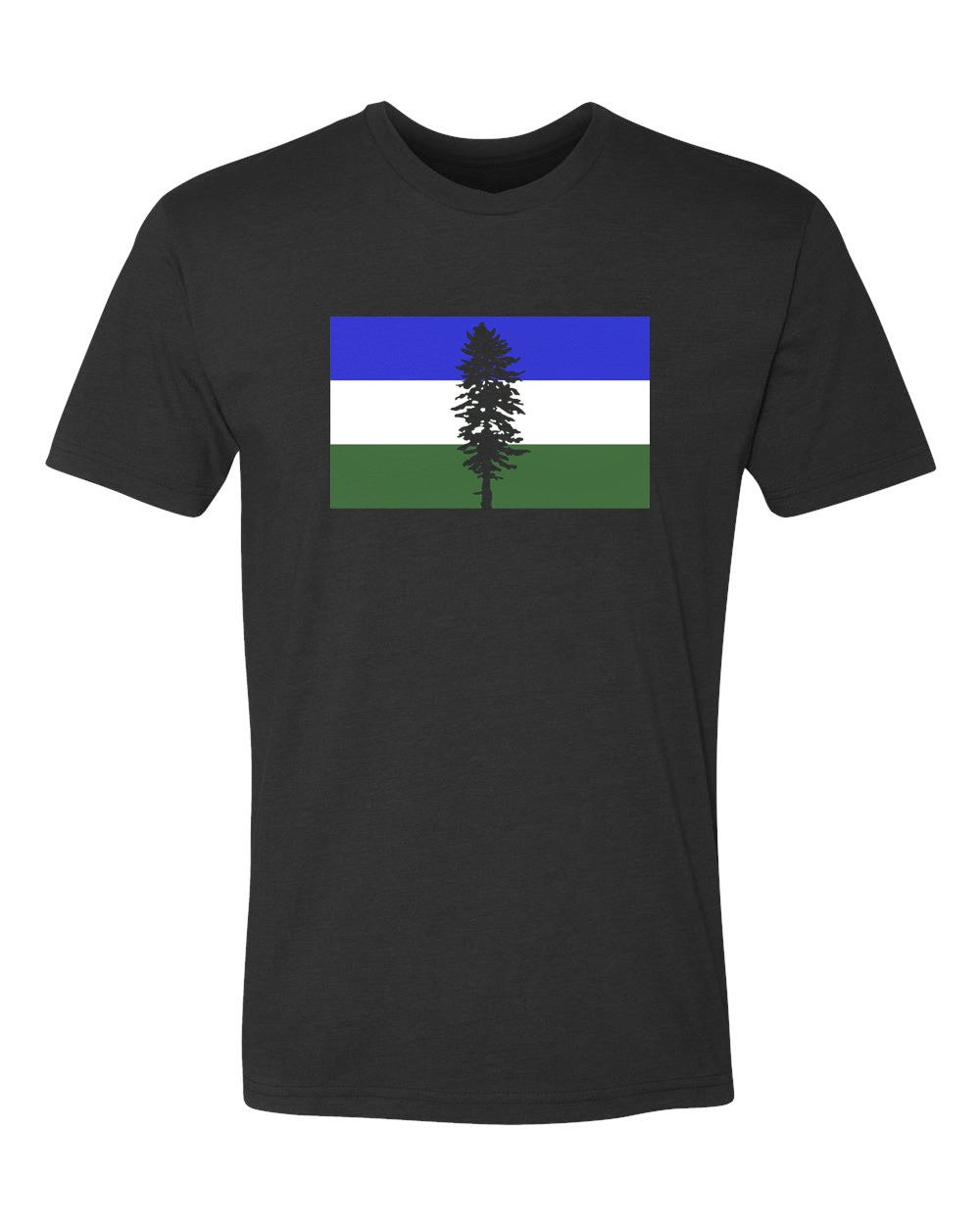 Cascadia Flag T-Shirt Black