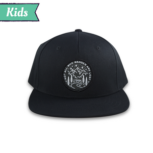 Not All Who Wander Kids Snapback