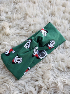 Christmas mouse turban headband