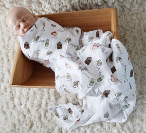 Potions Swaddle Blanket