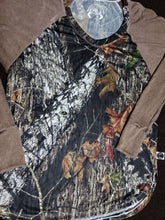 Load image into Gallery viewer, Over-sized Mossy oak raglan