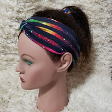 Load image into Gallery viewer, Gallaxy stripe turban style headband