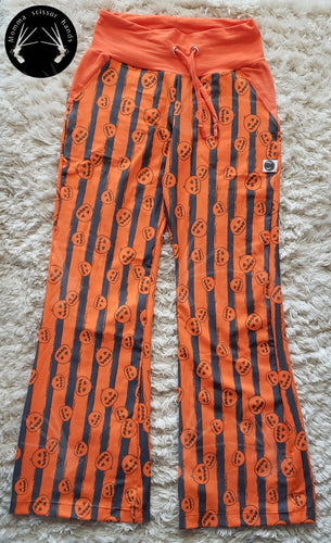 Pumpkin patch pants.