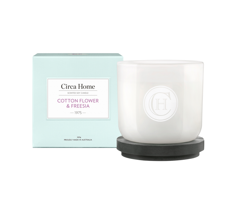 Circa Home Classic Candle - 1975 Cotton Flower & Freesia