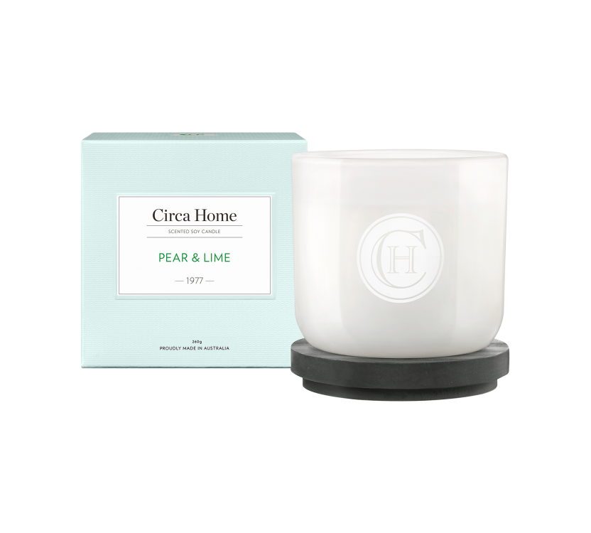 Circa Home Classic Candle - 1977 Pear & Lime