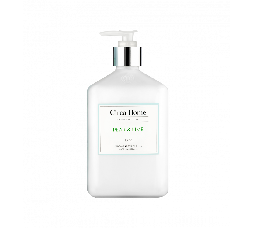 Circa Home Hand & Body Lotion - 1977 Pear & Lime