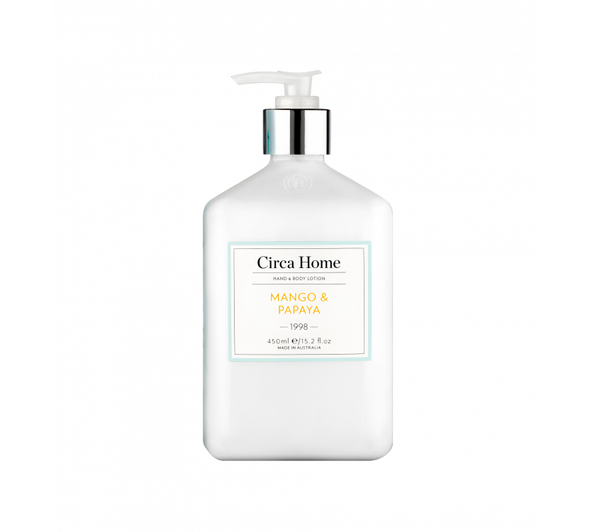 Circa Home Hand & Body Lotion - 1998 Mango & Papaya